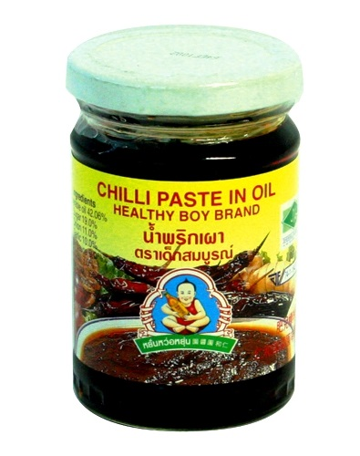 Pasta di peperoncino in olio - Healthy boy brand 220g.