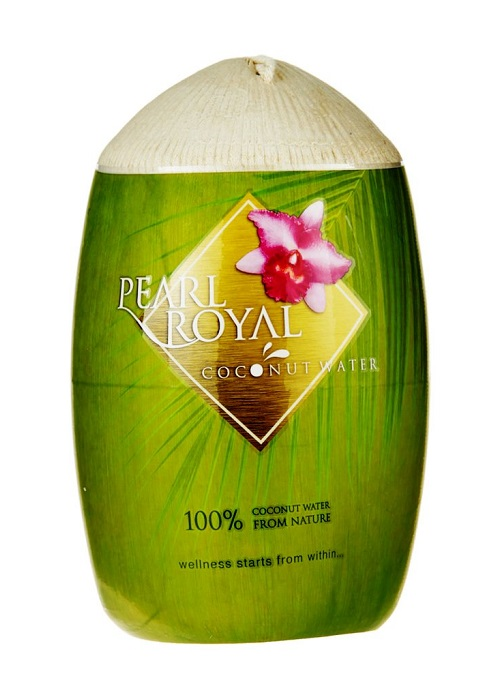 Acqua di cocco pura da bere - Pearl Royal 310ml.