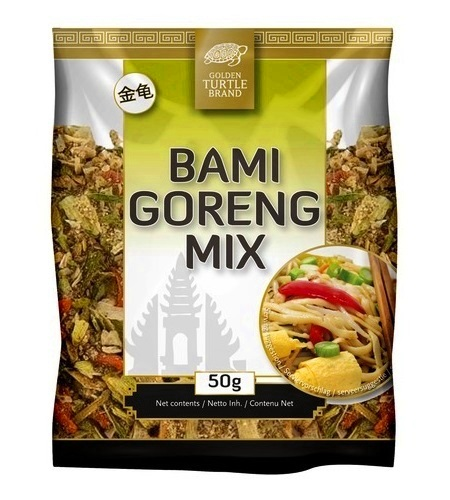 Preparato per Bami Goreng noodles indonesiani -Golden Turtle 50g
