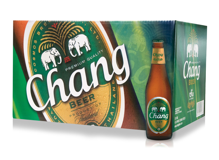 CHANG BEER - cartone da 24 x 0,32 l.