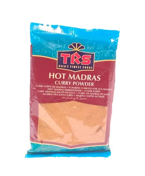 Curry in polvere Madras Hot - Trs 100g.