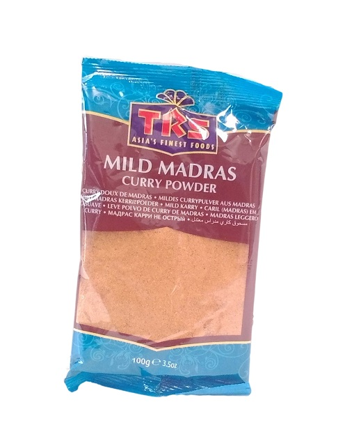 Curry in polvere Madras Mild - Trs 100g.