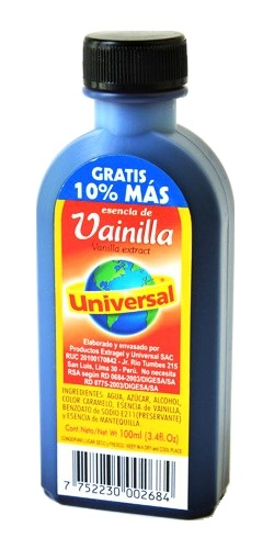 Essenza di Vaniglia - Universal 100ml.