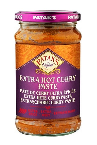 Extra Hot Curry Paste - Patak's 283g.
