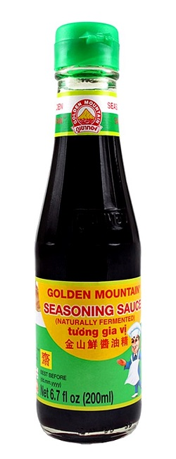Salsa di soia per condimento - Golden Mountain 200 ml.
