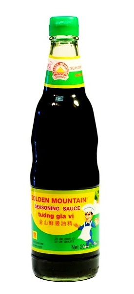 Salsa di soia per condimento - Golden Mountain 600 ml.