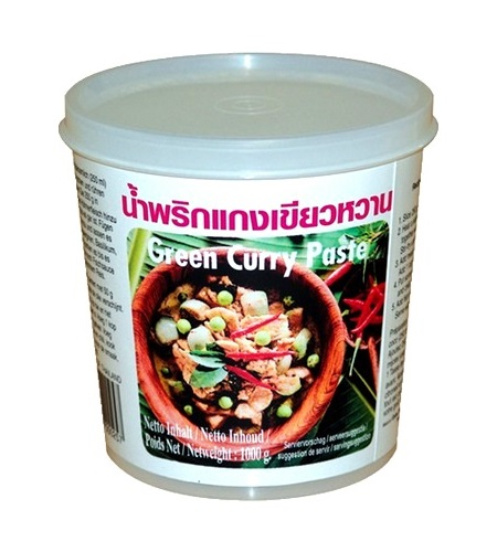 Green curry paste - Lobo 400 g.