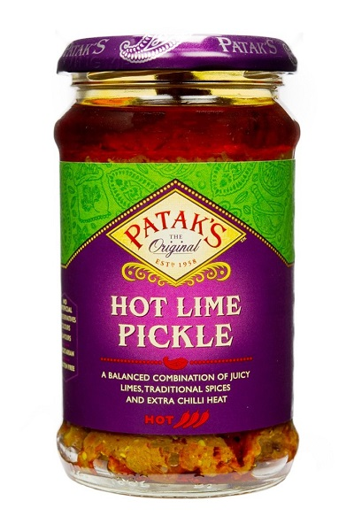 Hot Lime Pickle - Patak's 283g.