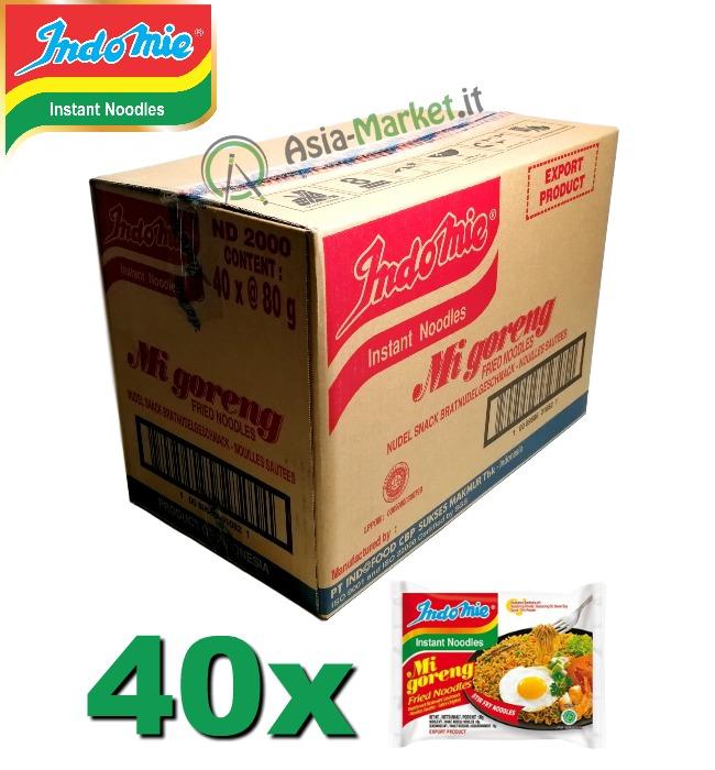 Indomie instant noodles Mi Goreng - scatola da 40 buste