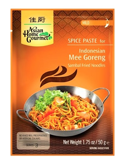 Preparato per Mee Goreng noodles indonesiani - A.H.G. 50g.