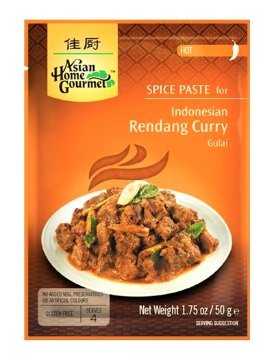 Rendang curry paste indonesiano - A.H.G. 50g.