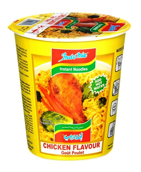 Indomie Cup instant noodles gusto Pollo - 60g.