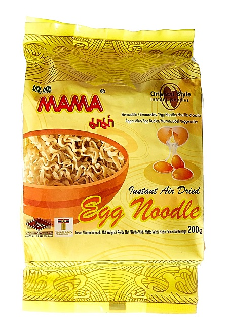 Instant noodles all'uovo - Mama 200 g.