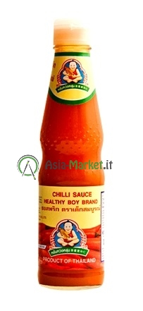 Salsa al peperoncino - Healthy boy brand 300ml.