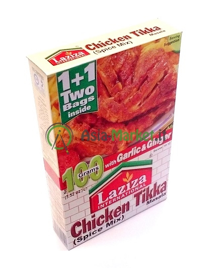 Chicken Tikka - Laziza 100g.