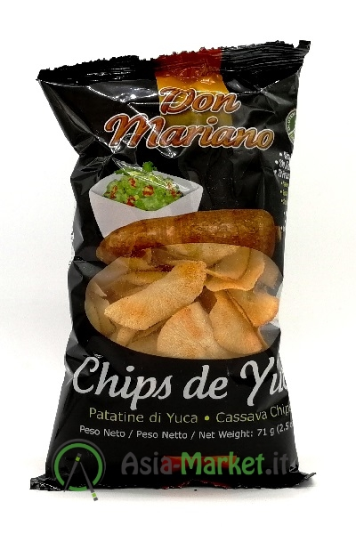Chips di yuca gusto barbecue - Don Mariano 71g.