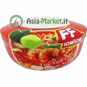 Cup noodle gusto Tom Yum - Fashion food 65g.