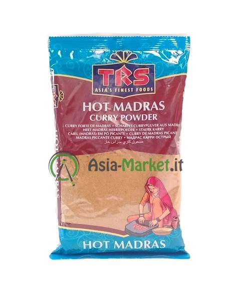 Curry in polvere Madras Hot - Trs 400g.