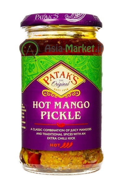 Hot Mango Pickle - Patak\'s 283g.