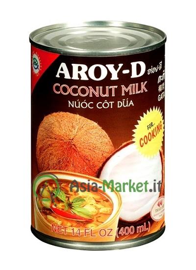 Latte di cocco per cucinare aroy d 400ml asia for Cucinare per 80 persone