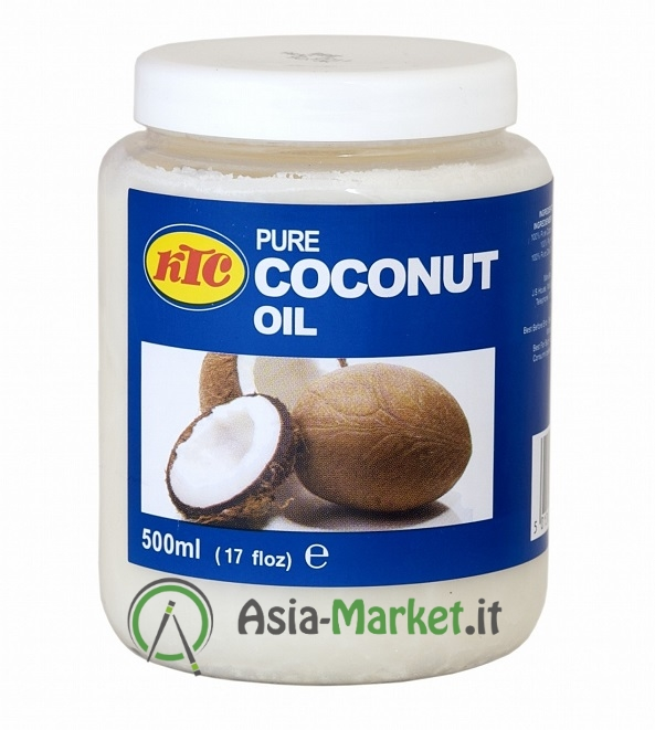 olio di cocco in barattolo - ktc 500 ml. - ?4.69 : asia-market.it ... - Olio Di Cocco Cucina