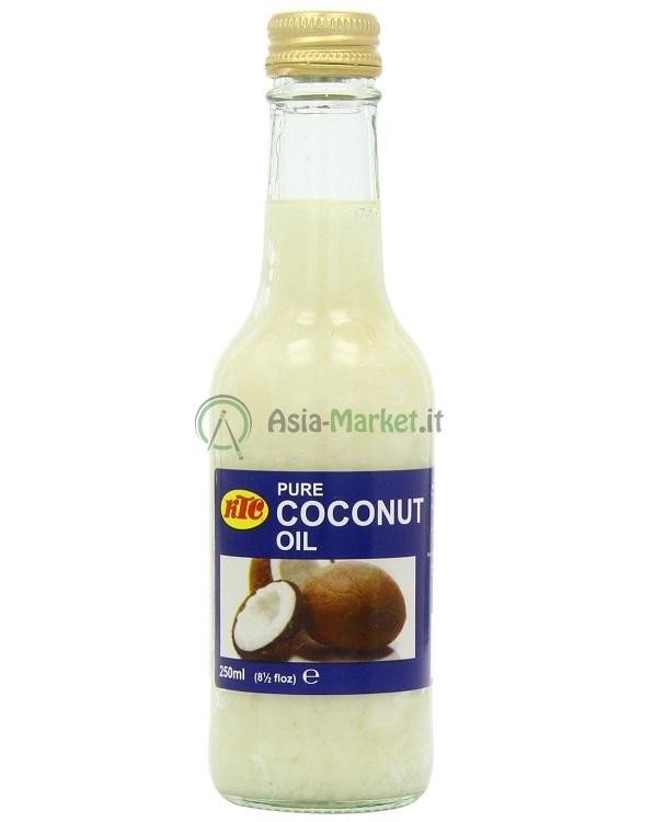 olio di cocco - ktc 250 ml. - ?2.55 : asia-market.it, l'asia sotto ... - Olio Di Cocco Cucina