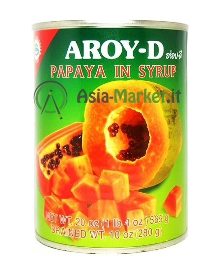 Papaya in sciroppo - Aroy-D 565 g.