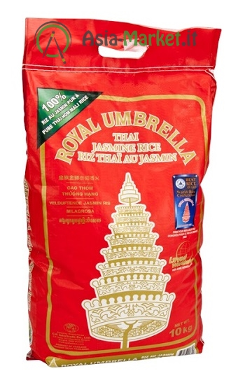 Riso thai profumato jasmine - Royal Umbrella 10 Kg.