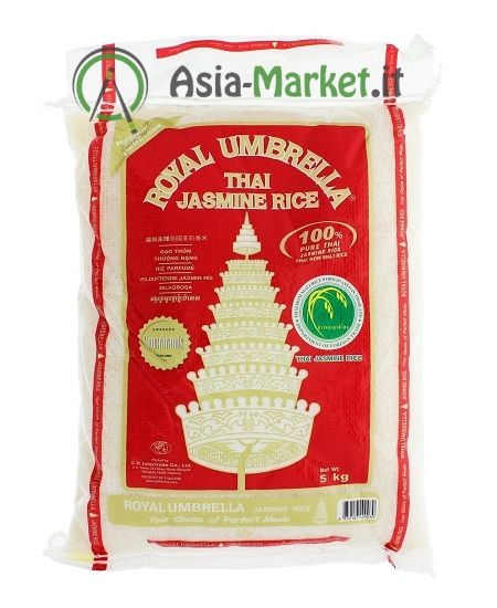 Riso thai profumato jasmine - Royal Umbrella 5 Kg.