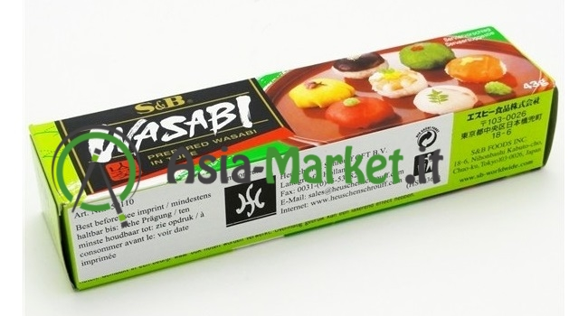 Wasabi in pasta - S&B 43 g.