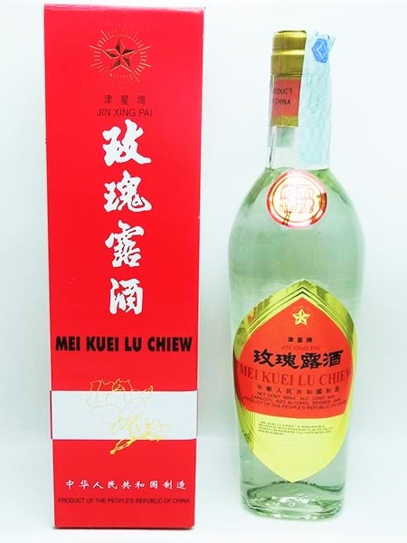 Grappa di rose cinese - Jin Xing Pai 500ml.