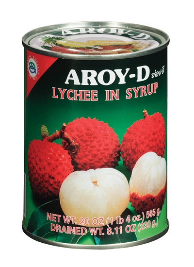 Lychee in sciroppo - Aroy-D 565 g.