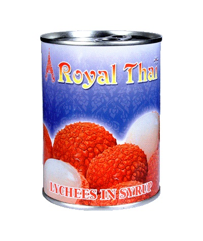 Lychee in sciroppo - Royal Thai 565 g.