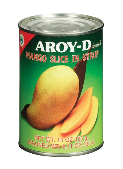 Mango a fette in sciroppo - AROY-D 425 g.