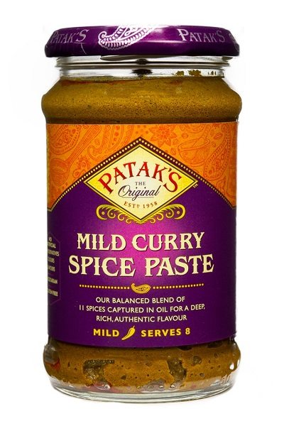 Mild Curry Paste - Patak's 283g.