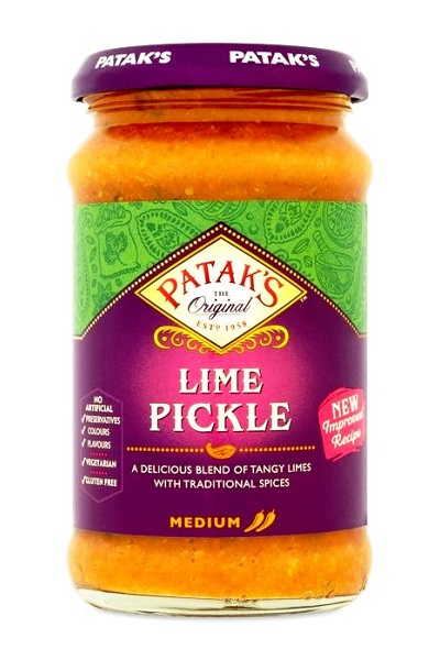 Mild Lime Pickle - Patak's 283g.