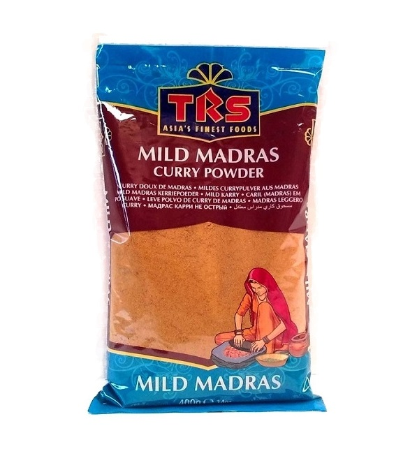 Curry in polvere Madras Mild - Trs 400g.