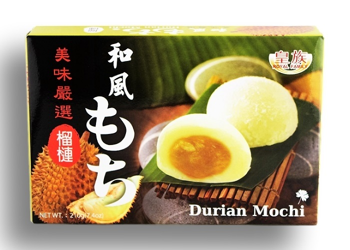 Dolce giapponese Mochi al Durian - Royal Family 210g.