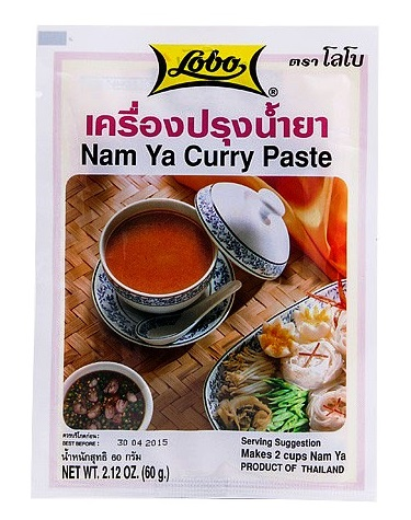 Namya curry paste - Lobo 60 gr.