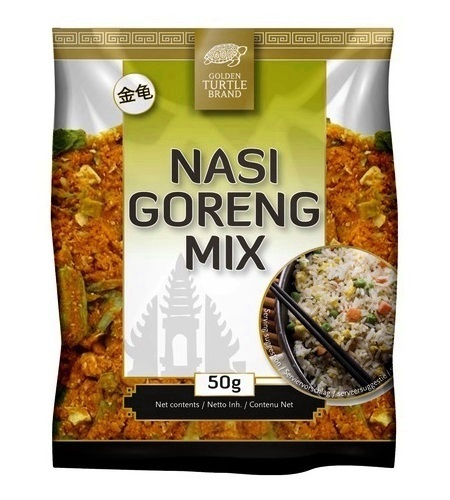Preparato per Nasi Goreng riso indonesiano - Golden Turtle 50g.