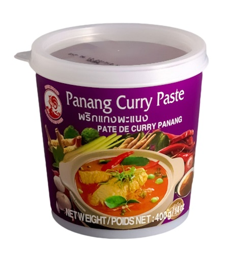 Panang curry paste - Cock Brand 400 gr.