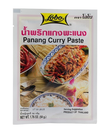 Panang curry paste - Lobo 50 gr.
