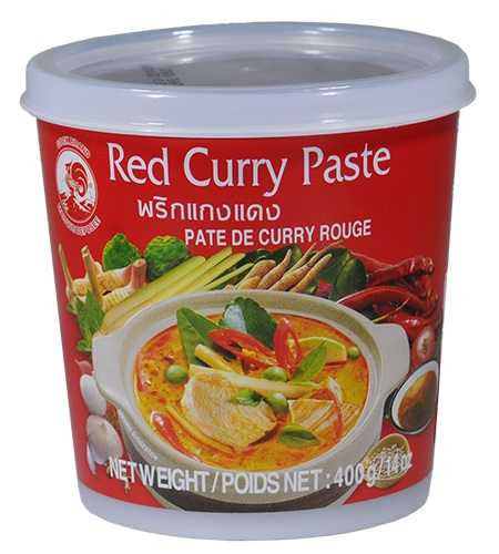 Red curry paste - Cock Brand 400 gr.