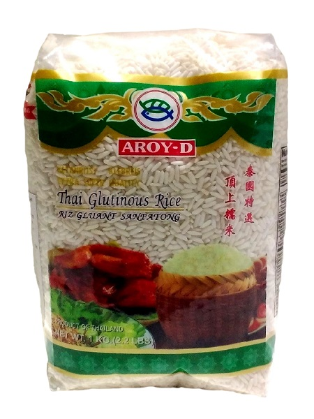 Riso glutinoso - Aroy-D 1 Kg.