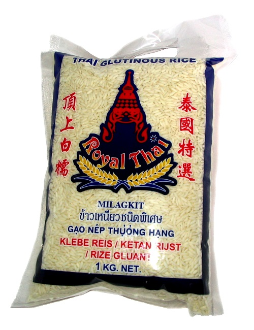 Riso glutinoso - Royal Thai 1Kg.
