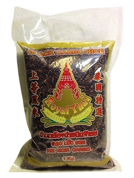 "Riso nero thailandese ""Black Cargo Rice Berry"" - Royal Thai 1 kg"
