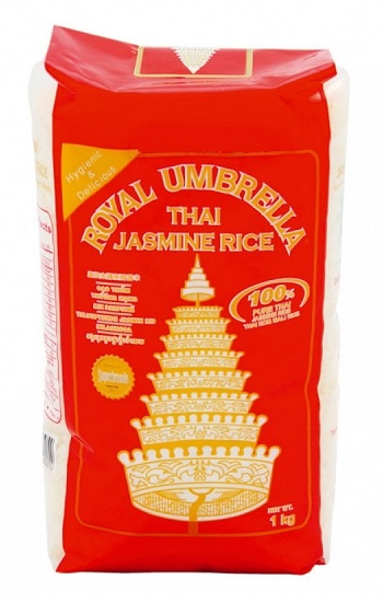 Riso thai profumato jasmine - Royal Umbrella 1 Kg.