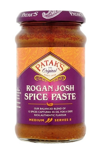 Rogan Josh Curry Paste - Patak's 283g.