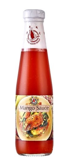 Salsa piccante al mango - Flying Goose 295 ml.