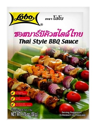 Salsa thai per barbecue - Lobo 50g.